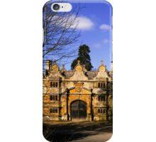 Manor Gatehouse  iPhone Case/Skin