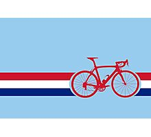 Bike Stripes British National Road Race Photographic Print