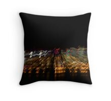 The City Moves Throw Pillow