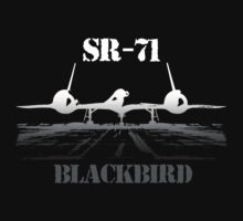 SR 71 Blackbird by hottehue