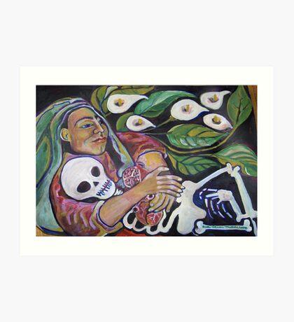 """I am Your Mother"" by Ruth Olivar Millan (Cuca) Art Print"