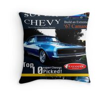 Super Chevy Throw Pillow