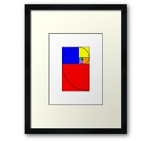 Golden Rectangle Framed Print