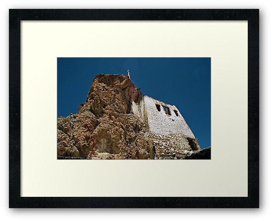 tibetan gompa. northern india by tim buckley   bodhiimages