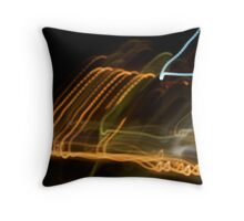 Urban Wave Throw Pillow