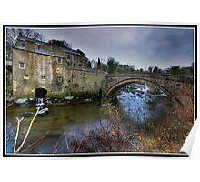 Aysgarth falls Mill Poster