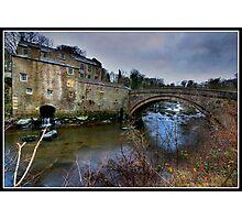 Aysgarth falls Mill Photographic Print