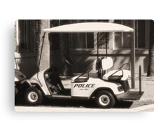 Police  Canvas Print