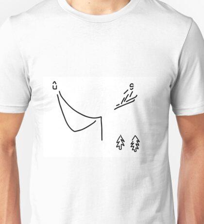 ski jumper digs ski jumping fly Unisex T-Shirt