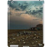 Stansbury Ruin at Twilight iPad Case/Skin