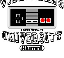Videogames University by edcarj82