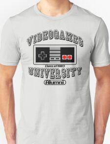 Videogames University T-Shirt