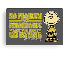 No Problem Canvas Print