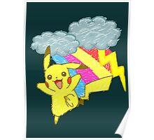 Pikachu Sky Poster