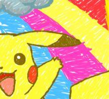 Pikachu Sky Sticker