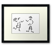 Spaniard Spaniard flamenco Andalusia Framed Print