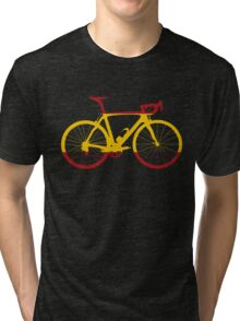 Bike Flag Spain (Big) Tri-blend T-Shirt