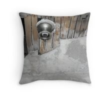 The Fixture: Farmhouse at Russell Farm Rd Throw Pillow
