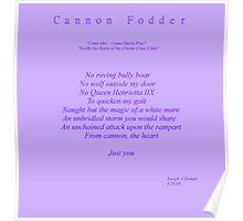 Cannon Fodder Poster