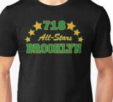 718 BROOKLYN ALLSTARS*GREEN/YELLOW Unisex T-Shirt