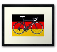 Bike Flag Germany (Big - Highlight) Framed Print