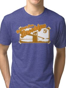 BROOKLYN GREETING CARD Tri-blend T-Shirt