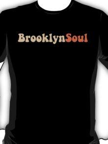 BROOKLYN SOUL*CREAM/ORANGE T-Shirt