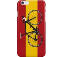 Bike Flag Spain (Big - Highlight) iPhone Case/Skin