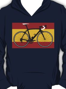 Bike Flag Spain (Big - Highlight) T-Shirt