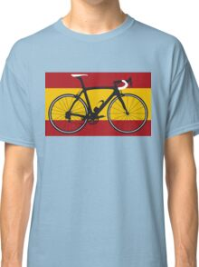 Bike Flag Spain (Big - Highlight) Classic T-Shirt