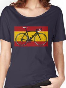Bike Flag Spain (Big - Highlight) Women's Relaxed Fit T-Shirt