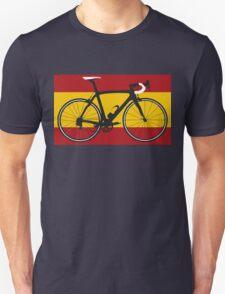 Bike Flag Spain (Big - Highlight) T-Shirt