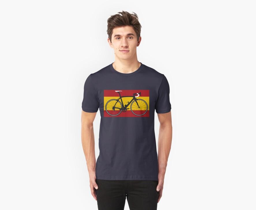 Bike Flag Spain (Big - Highlight) by sher00