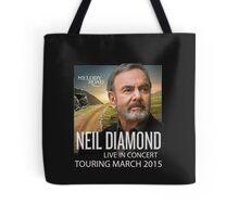 Neil Diamond Concert tour 2015 Tote Bag