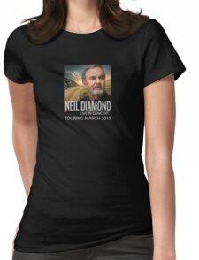 Neil Diamond Concert tour 2015 Womens Fitted T-Shirt