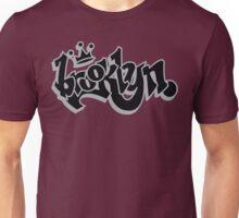 BROOKLYN GRAFF STYLE*BLACK/SILVER Unisex T-Shirt