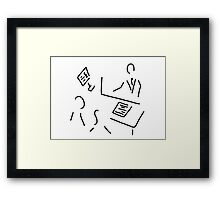 tax adviser lawyer tax office Framed Print