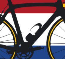 Bike Flag Netherlands (Big - Highlight) Sticker