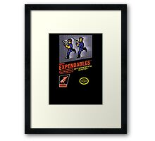 Super Expendables Framed Print
