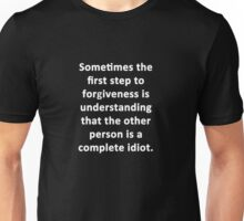 Sometimes the First Step Unisex T-Shirt