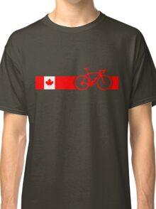 Bike Stripes Canadian National Road Race Classic T-Shirt