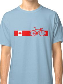 Bike Stripes Canadian National Road Race Classic T-Shirt