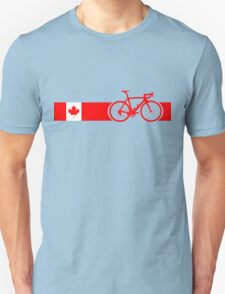 Bike Stripes Canadian National Road Race T-Shirt