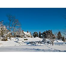 Gairloch House in Winter Photographic Print