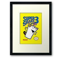 Super Shake Bros. 3 (Print Version) Framed Print