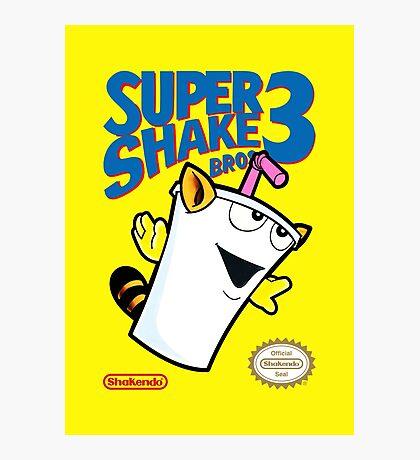 Super Shake Bros. 3 (Print Version) Photographic Print