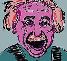 Einstein_Red by AzureeArtsABQ