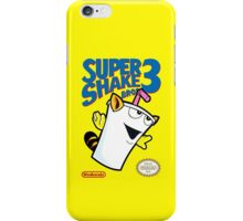 Super Shake Bros. 3 iPhone Case/Skin