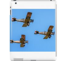 Bristol F.2b Fighters in vic formation iPad Case/Skin