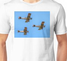 Bristol F.2b Fighters in vic formation Unisex T-Shirt